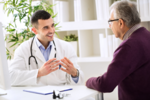 Peripheral Artery Disease doctor and patient